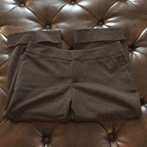 Mossimo Brown Cropped Career Pants 6